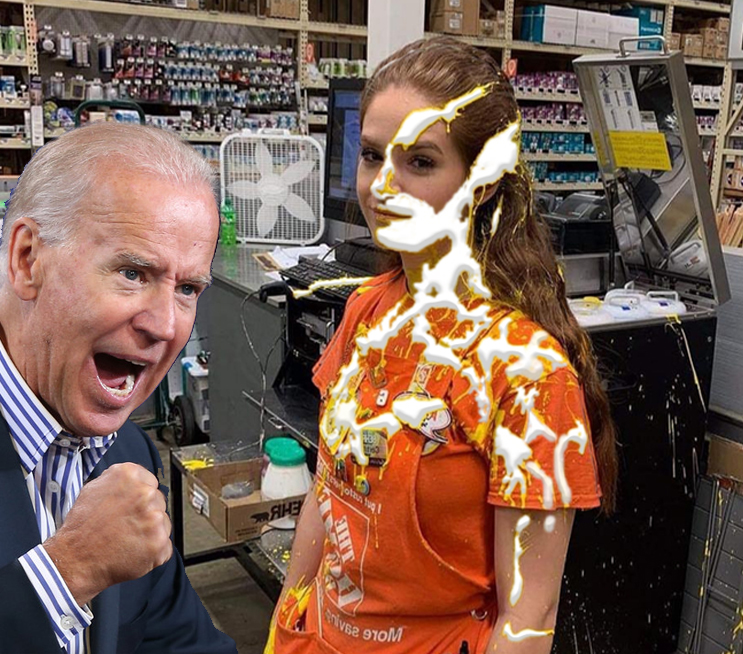 Another Victim of Creepy Joe Biden - Picture   eBaum's World