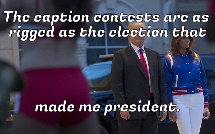 Crooked contest