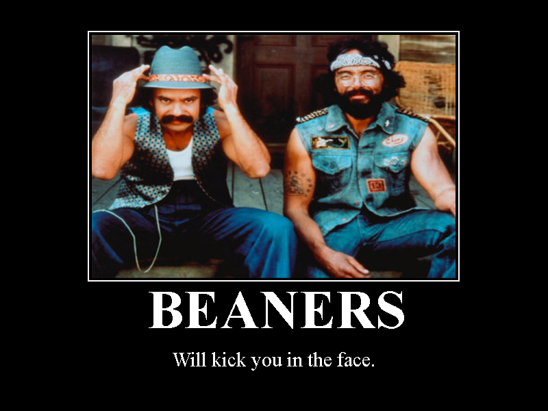 BEANERS - Will kick you in the face...