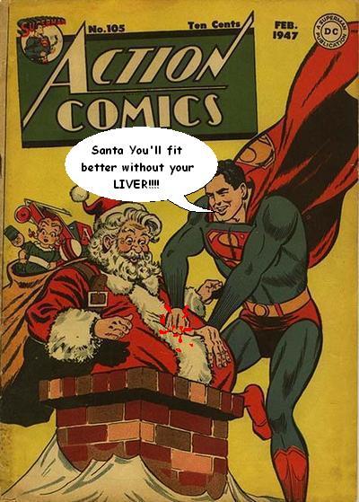 Superman Saves Christmas - Picture | eBaum's World