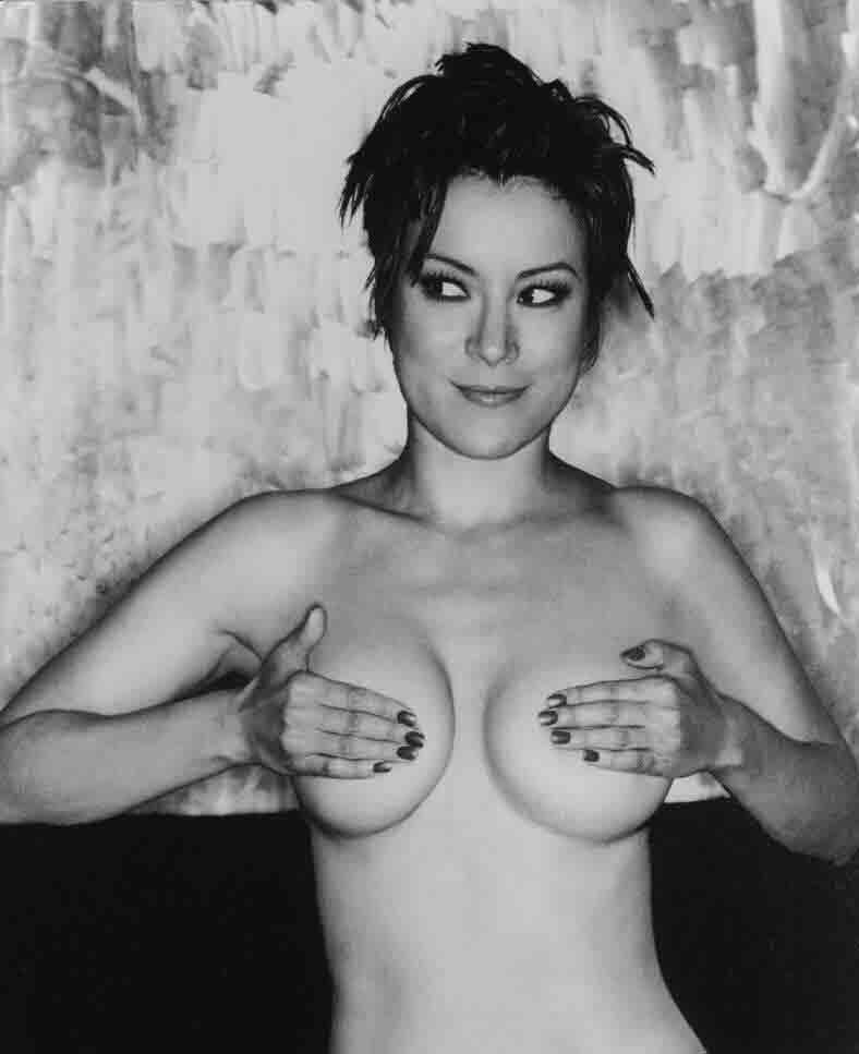Sexy naked pregnant enema