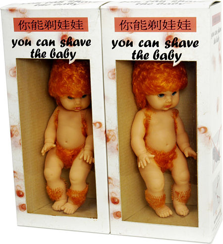 Shave the baby toy?