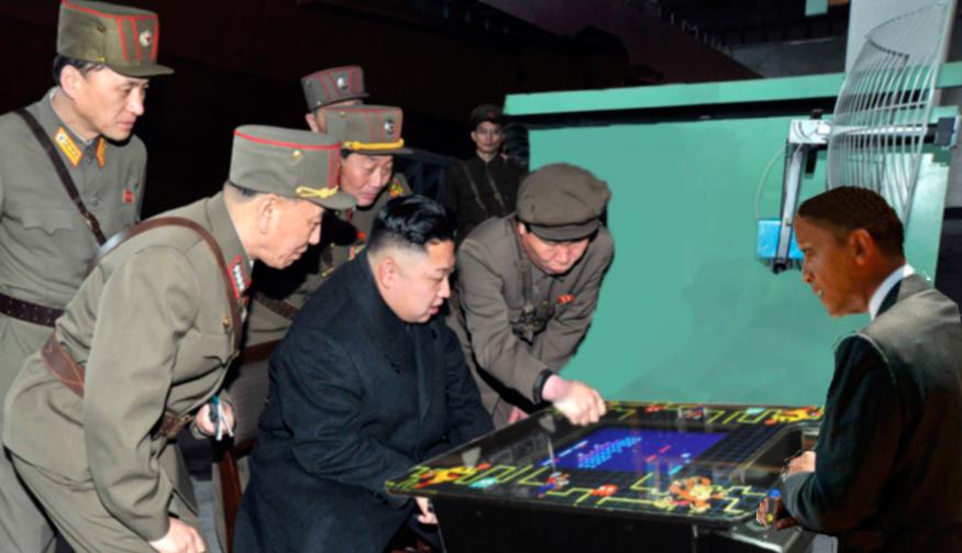 Barack dominates at PacMan... Fact!