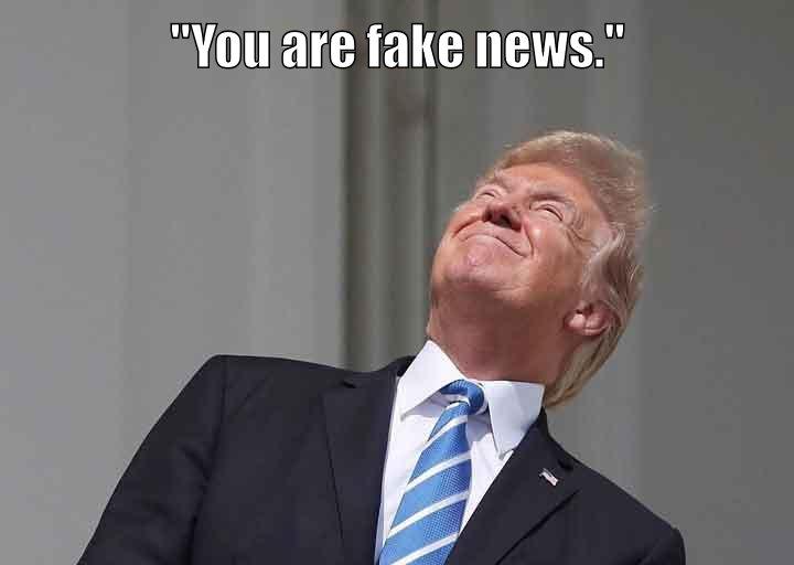 Moon throws shade. Trump responds.
