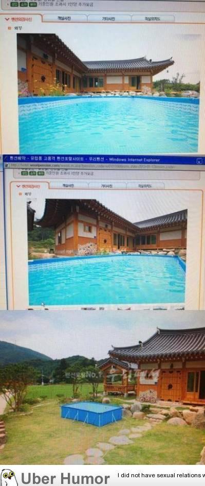 nice pool, ohh