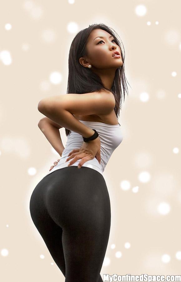 Big ass asian women