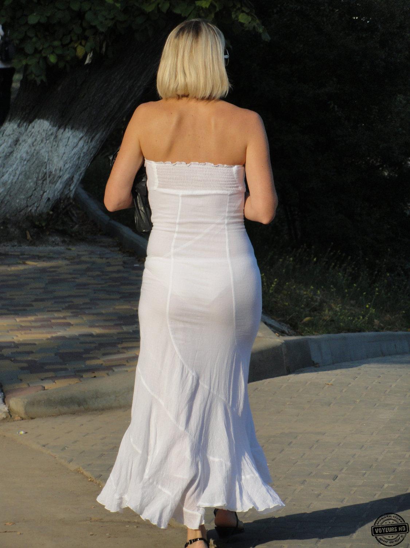 Дамы в прозрачных платьях фото — 14