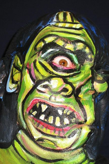 Ugly Face Paint Dude Gallery Ebaum S World