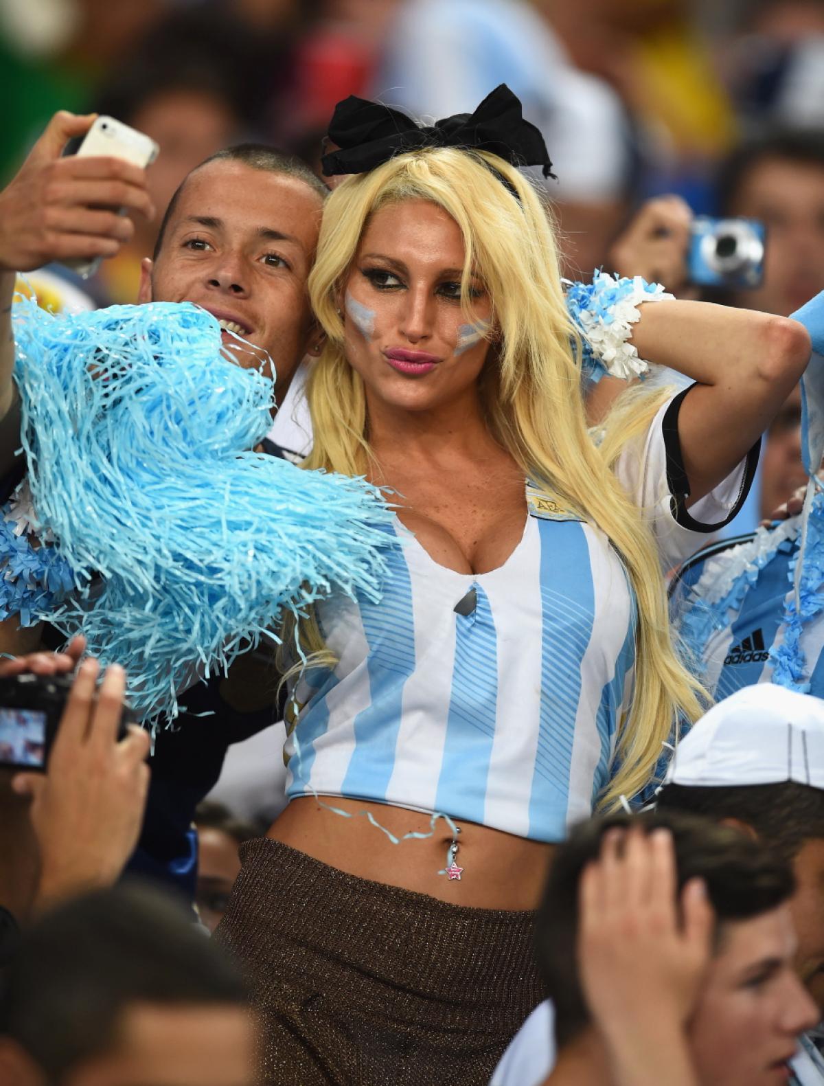 Hot brazilian fan world cup girl you tell