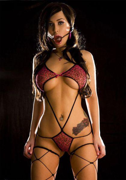 sexy women in lingerie bondage
