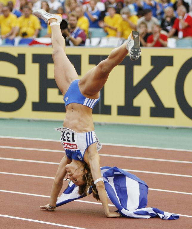Sexy track and field women