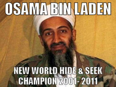 Osama hide and seek champion