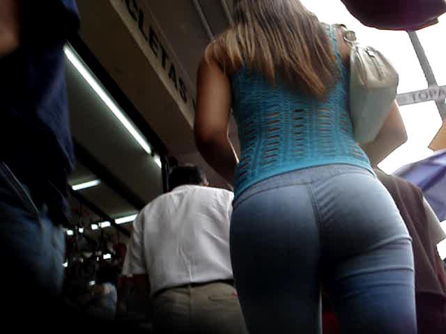 Candid ass shot