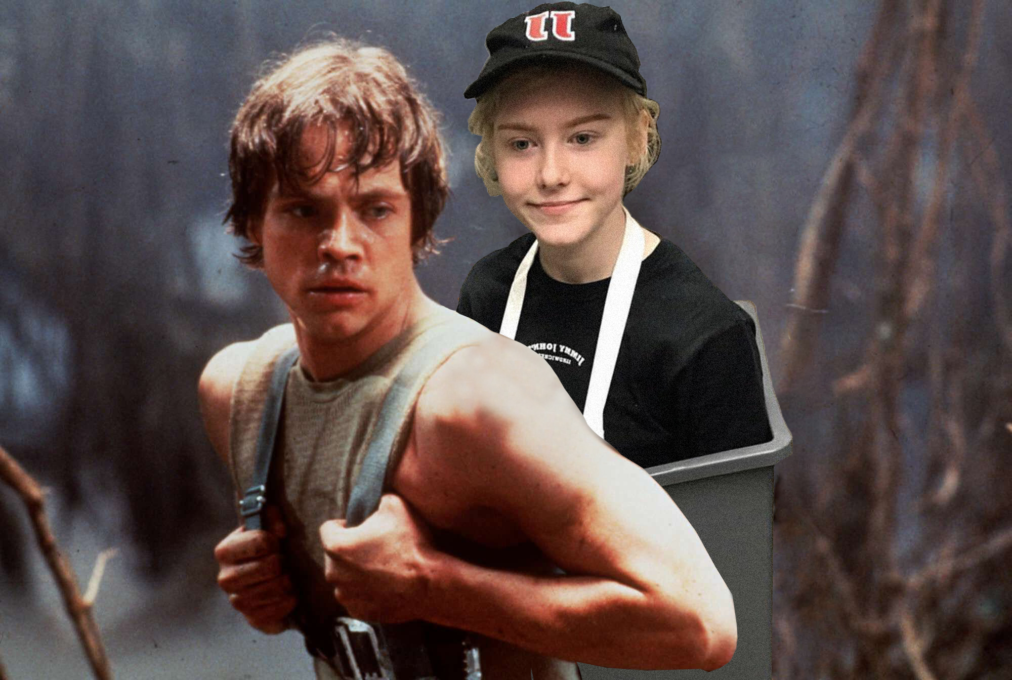 Here we find Luke training to be freaky fast.