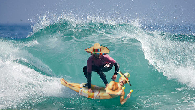 Surfin' In The Mexico