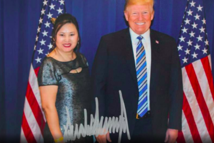 Pictured is Cindy Yang, the owner of a chain of massage parlors cum brothels where Patriots owner Robert Kraft got busted with his pants down has one at Mar-A-Lago. Yes-siree, what a relaxing weekend; blow jobs, golfing, hamberders, blow jobs, more hamberders, more blow jobs.....
