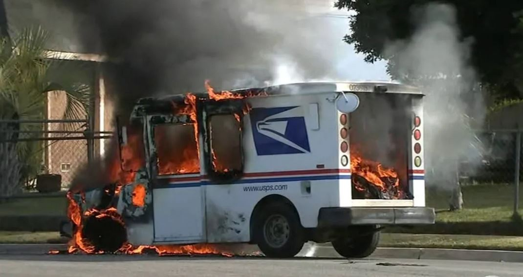 If you get rid of the Postal Service, there won't be any pesky vote-by-mail, will there? Mind you, unlike public education or clean water, the postal system is actually in the US Constitution.