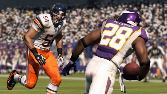 outlet store dac57 1eb09 Chicago Bears' Away Uniforms Wrong In Madden '13 - Picture ...