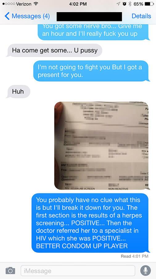 Ex husband Asshole