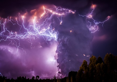 Volcanic Electrical Storms Gallery Ebaum S World