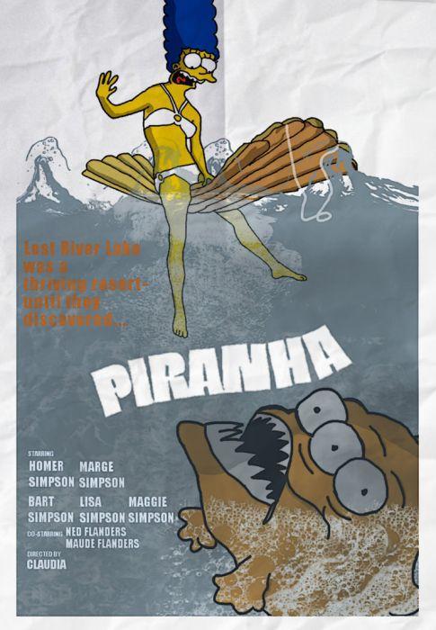 Simpsons Movie Poster Parodies Gallery
