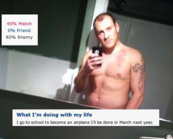 Weird dating site profiles that work