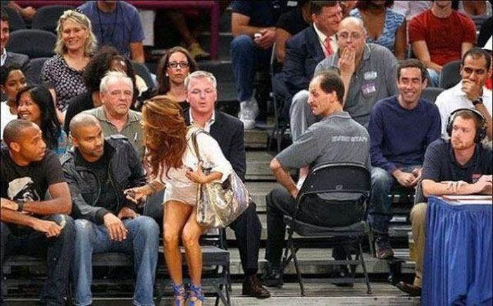 Caught staring women Why men