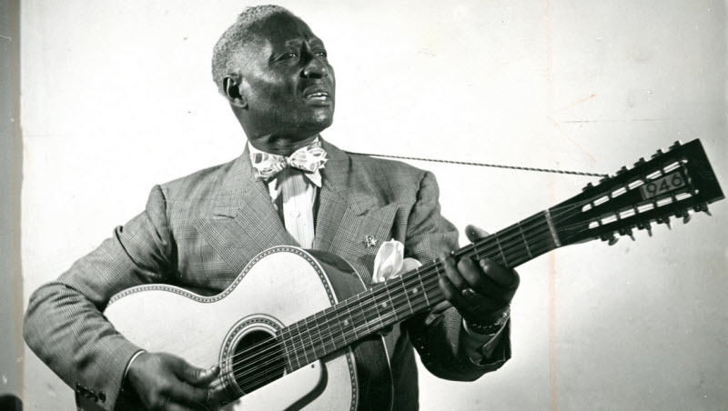 19 -  Blues legend Lead Belly had a bad temper, and he was charged with murder for killing one of his relatives. The two men were fighting over a woman.