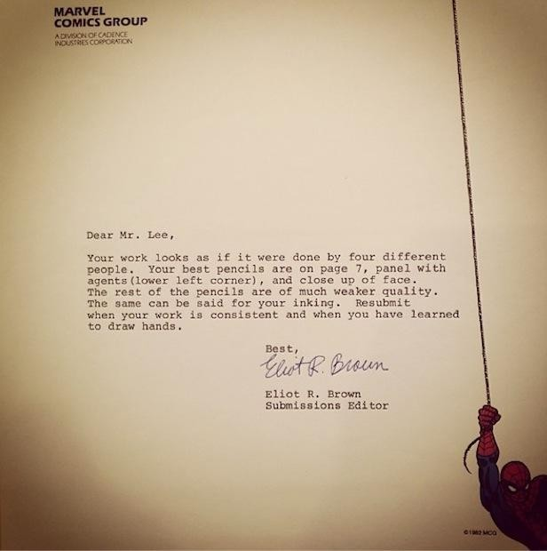 Rejection Letters To Famous people Before They made it Gallery