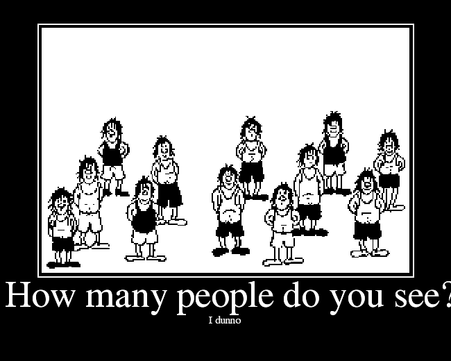 How Many People Do You See - Picture  Ebaums World-7682