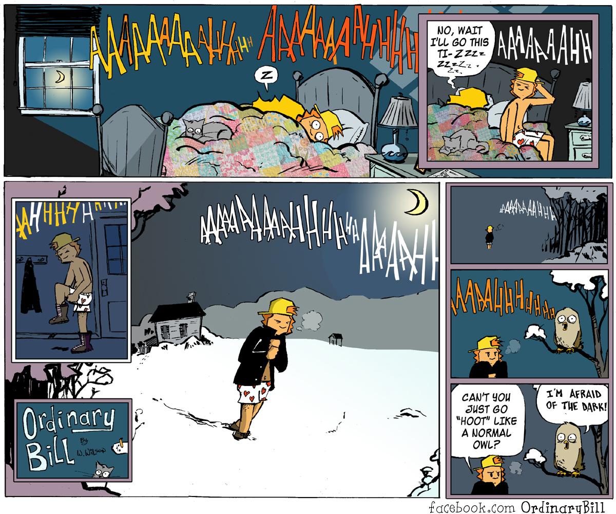 Bill comic strip