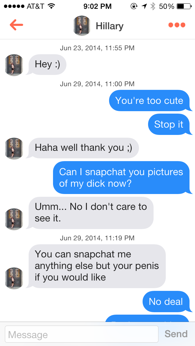 Student Wins At Trolling Women On Tinder Gallery Ebaum