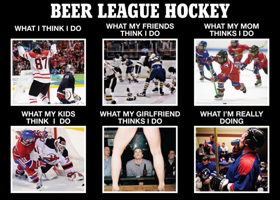 7 Types of Players You Will Find in EVERY Men's League | HIGH ACTION HOCKEY