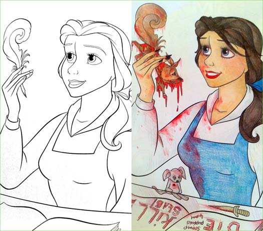 14 More Coloring Book Corruptions - Funny Gallery | eBaum\'s World