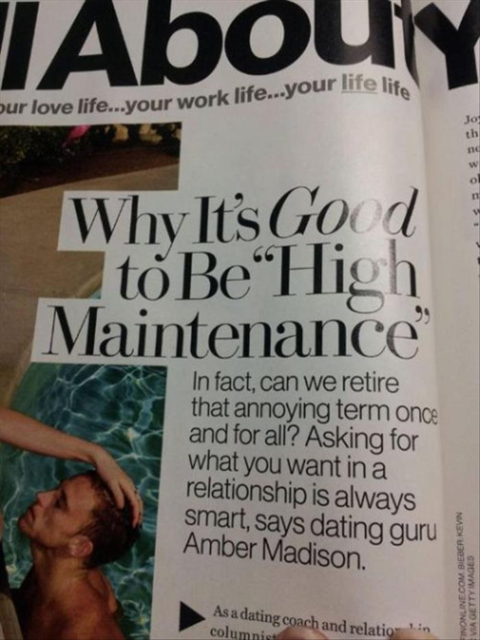 magazine articles on dating