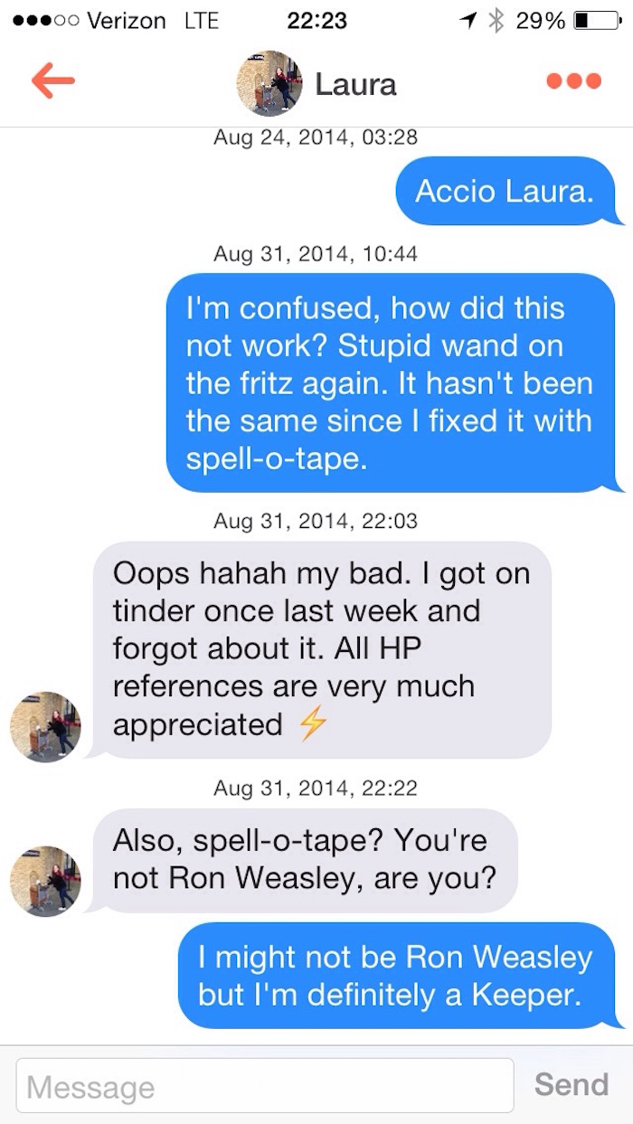 12 nerds on Tinder who have better pick-up lines than you