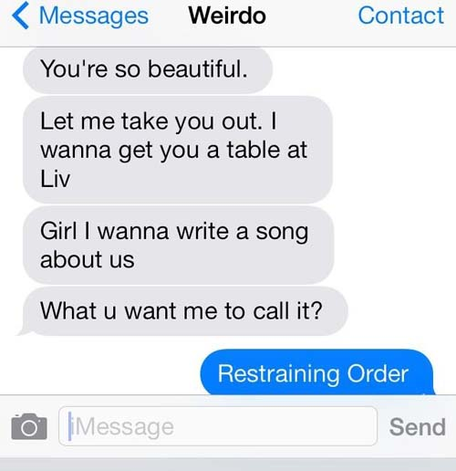 Flirting text to a girl regret