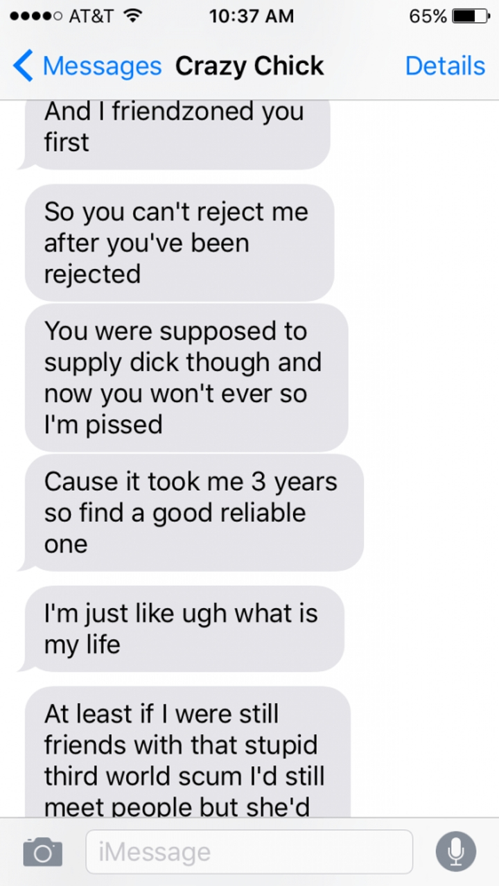 Crazy Ex-Girlfriend Goes On The Most Insane Text Rant - Facepalm