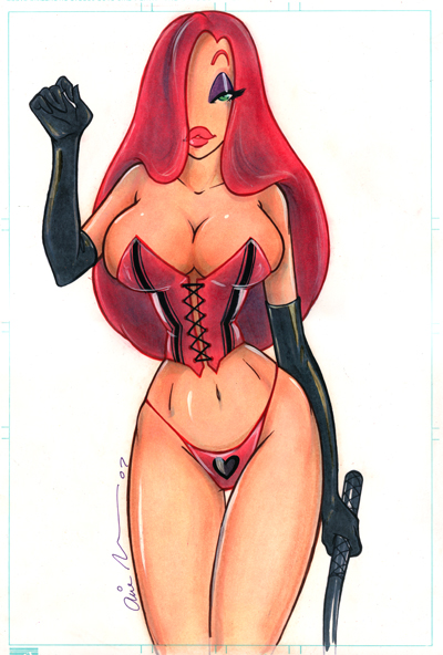 Erotic jessica rabbit sketches for support