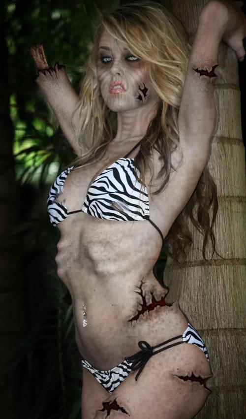 Hot zombie bikini girls, gwen tennyson grandma