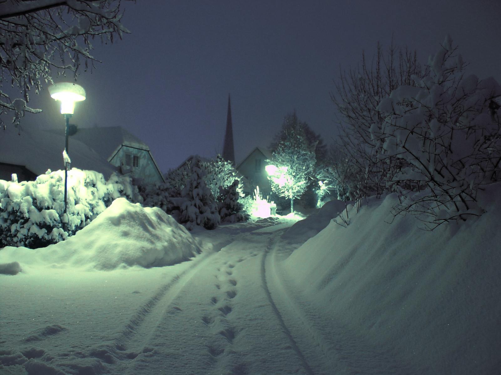 сосуд картинки город зима ночь кто-то приближенных