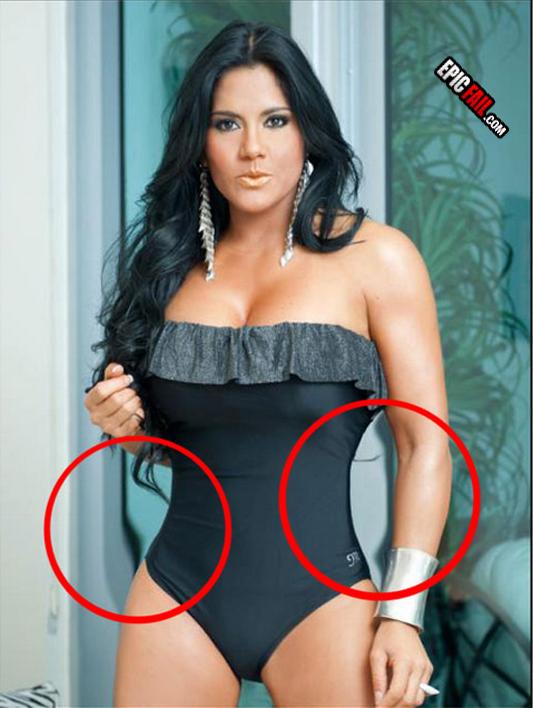 Epic Photoshop Fails Girls