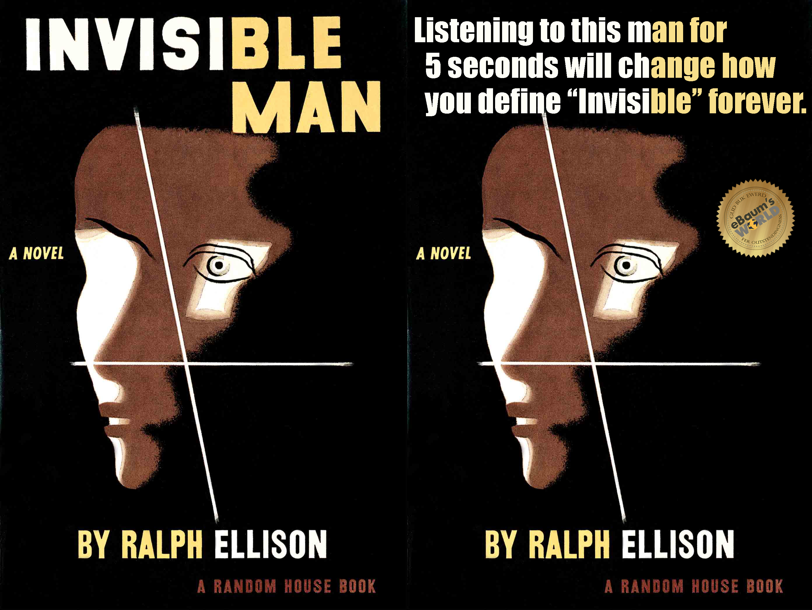 The invisible man ralph ellison audio book mp3 players