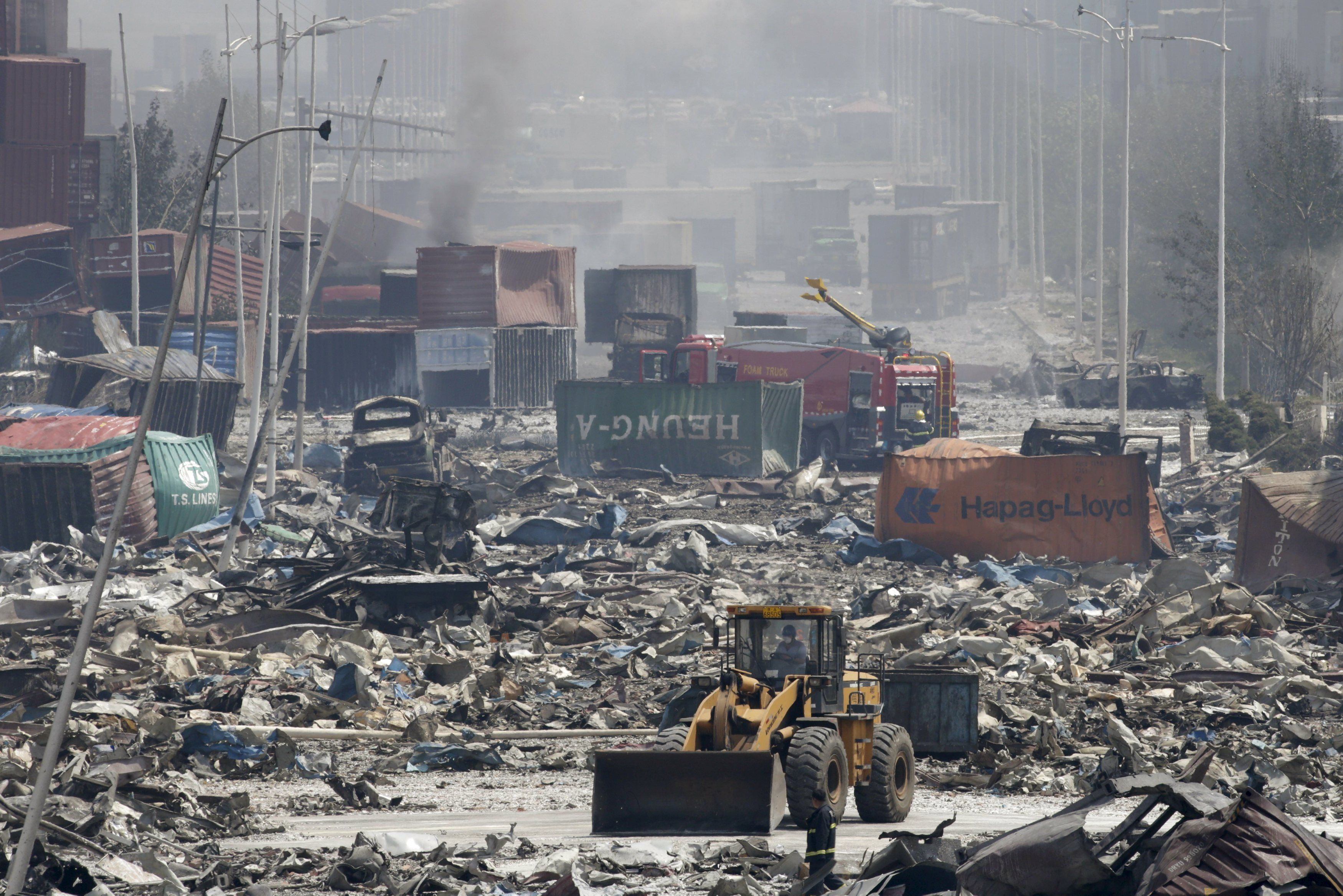 2c995fec93b Aftermath of Tianjin Explosion Looks Like a Movie