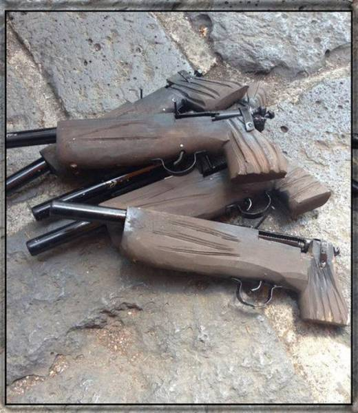27 Crazy Homemade Guns And Weapons - Wtf Gallery | eBaum's World