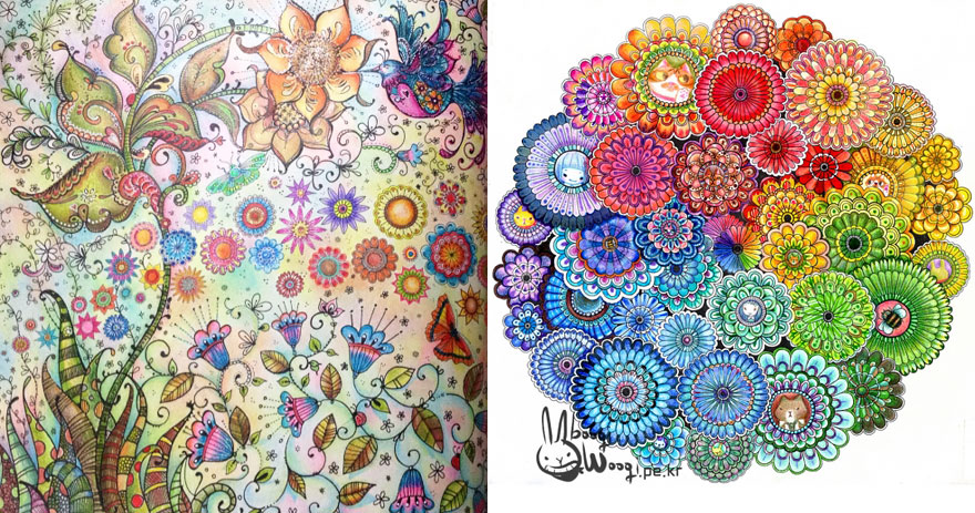 Artist\'s Adult Coloring Books Sell Over a Million Copies ...
