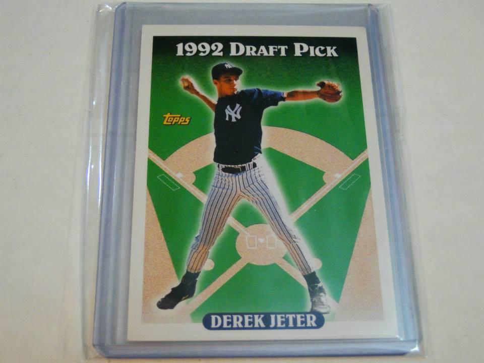 Derek Jeter Complete Topps Base Card Collection 1993 2014