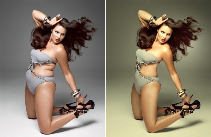 Playboy photos before and after photoshop