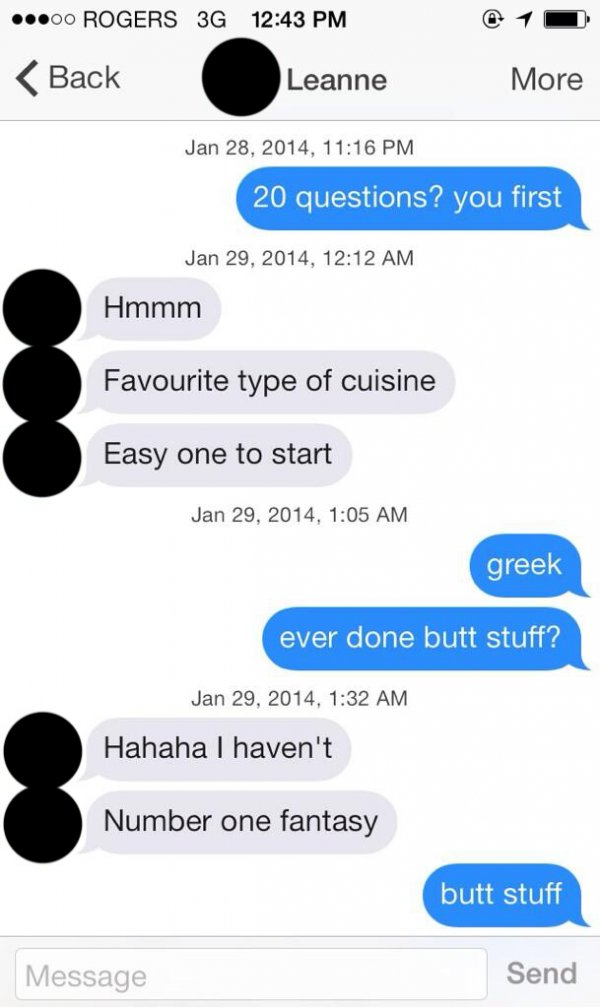 23 Funniest Tinder Conversations Ever - Funny Gallery -5062