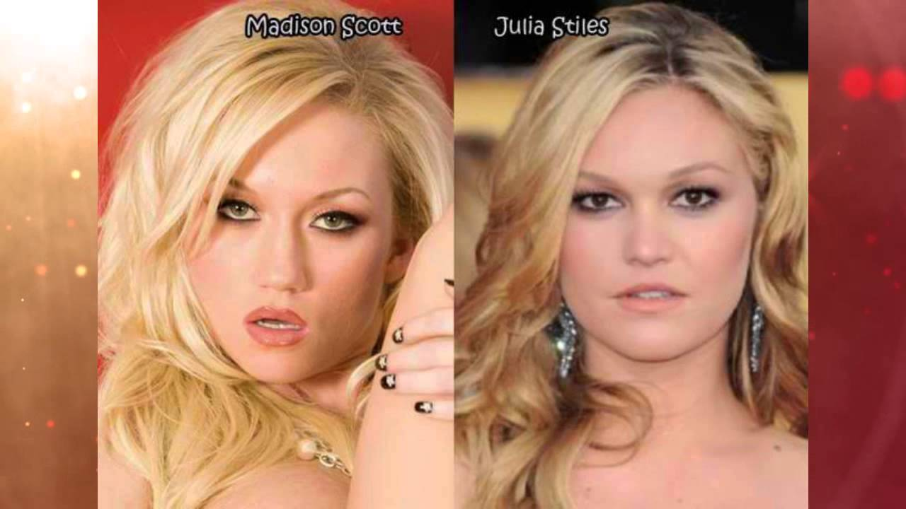 Celebrity porn star lookalikes